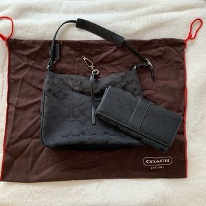Signature Coach Purse with Matching Wallet